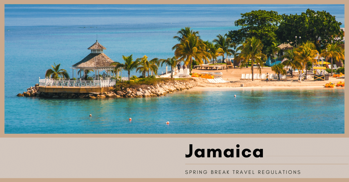 Jamaica Travel Regulations 2021